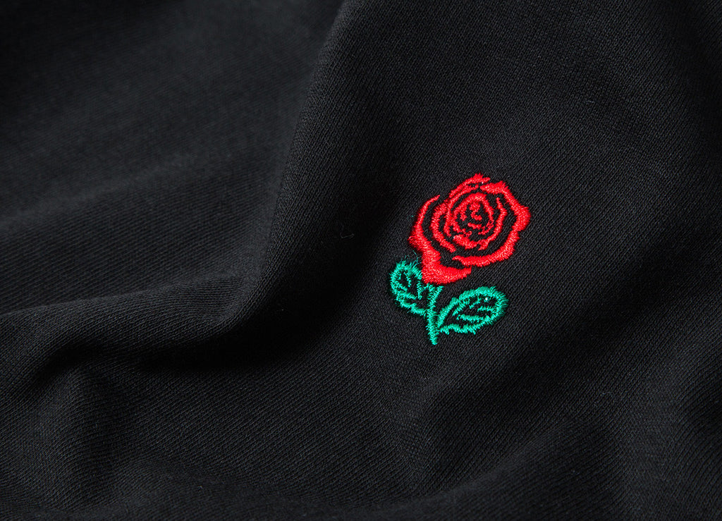 The Hundreds Rose English L/S T Shirt - Black