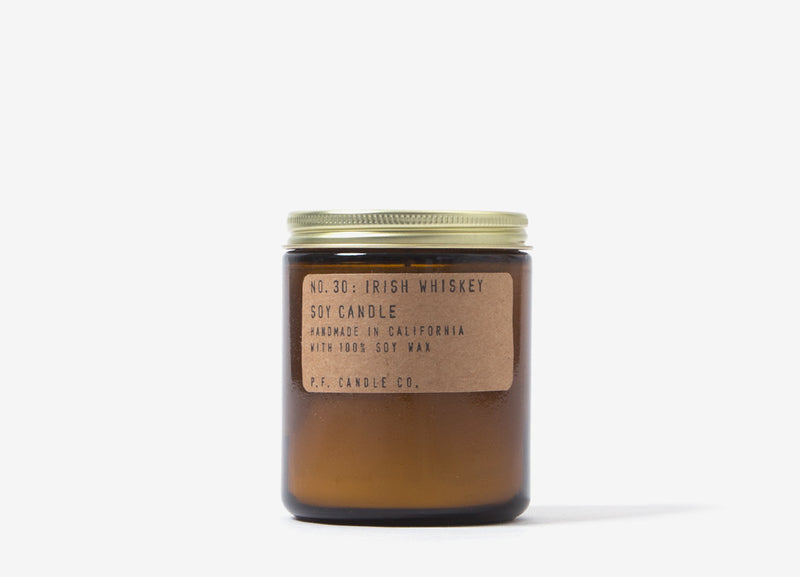 P.F. Candle Co. Irish Whiskey Soy Candle - 7.2o/z
