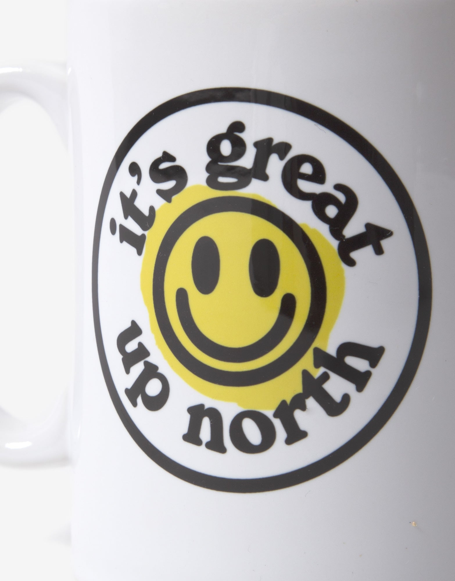 It's Great Up North Mug - White