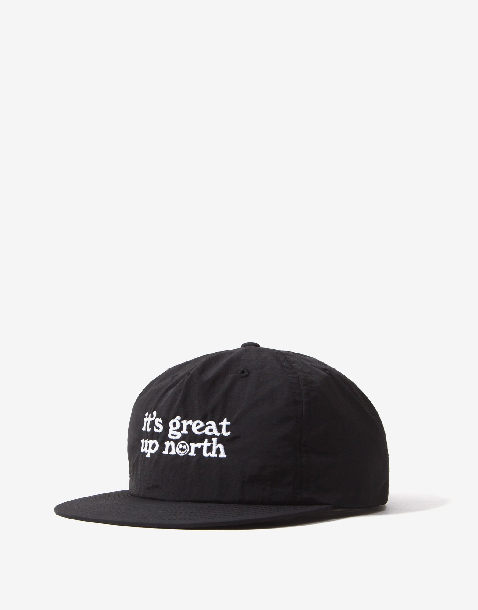It's Great Up North Snapback Cap - Black