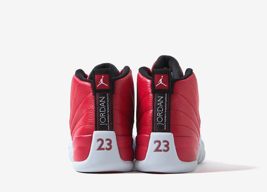 "Air Jordan XII Retro ""Gym Red"" Shoes - Gym Red/White-Black"