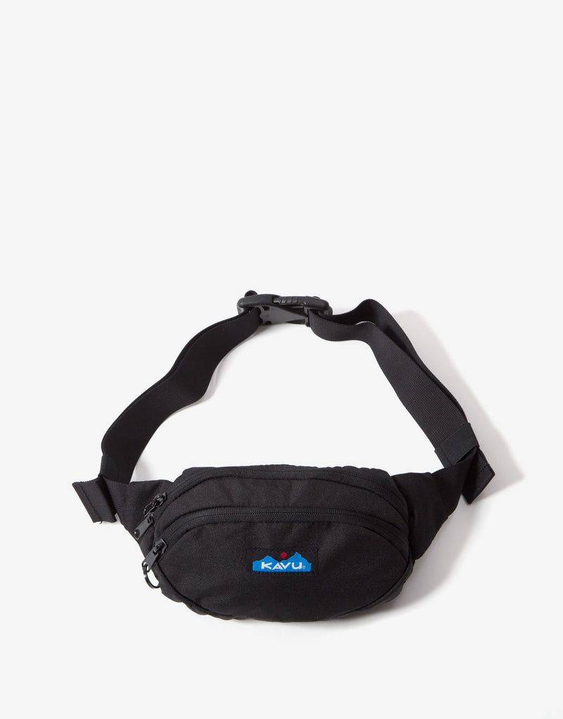 KAVU Canvas Spectator Bag - Jet Black
