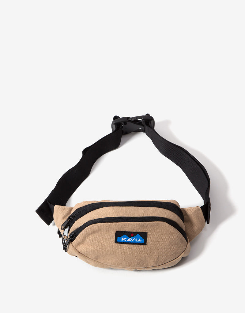 KAVU Canvas Spectator Bag - Khaki