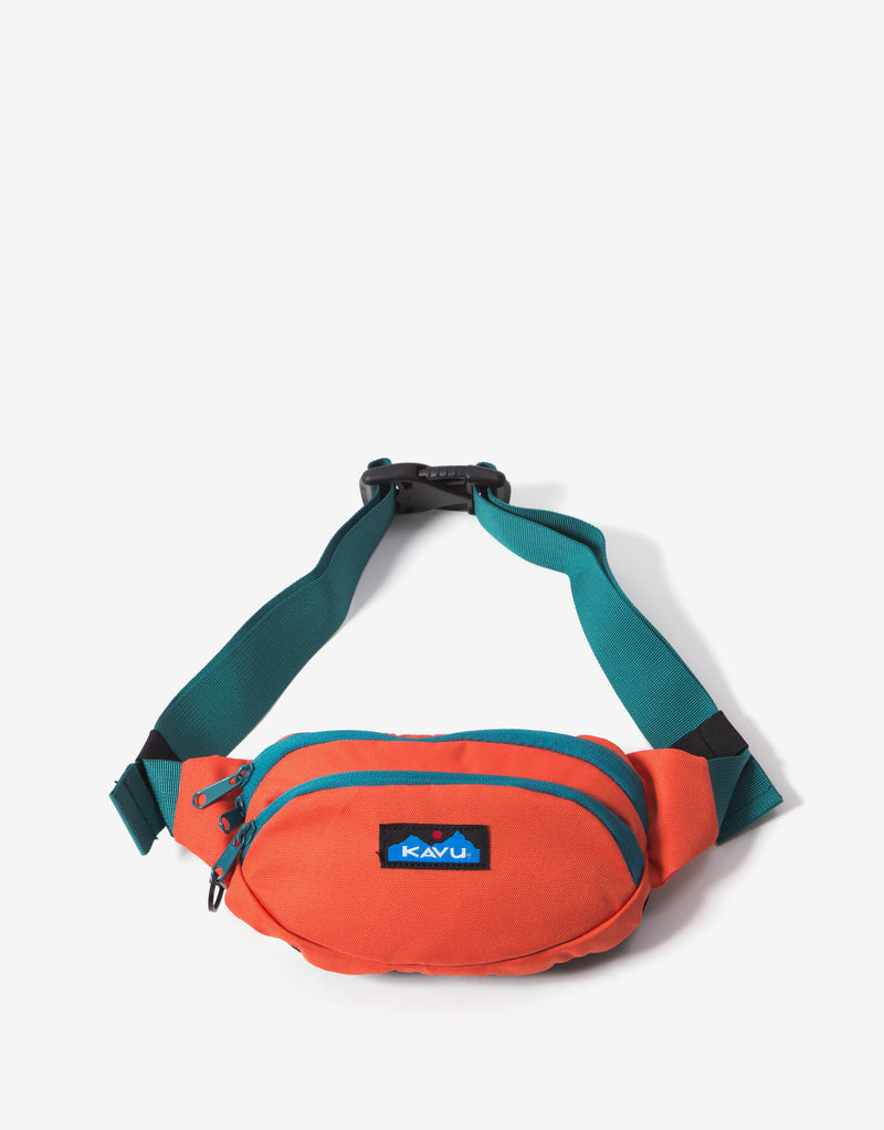 KAVU Canvas Spectator Bag - Orange Pop