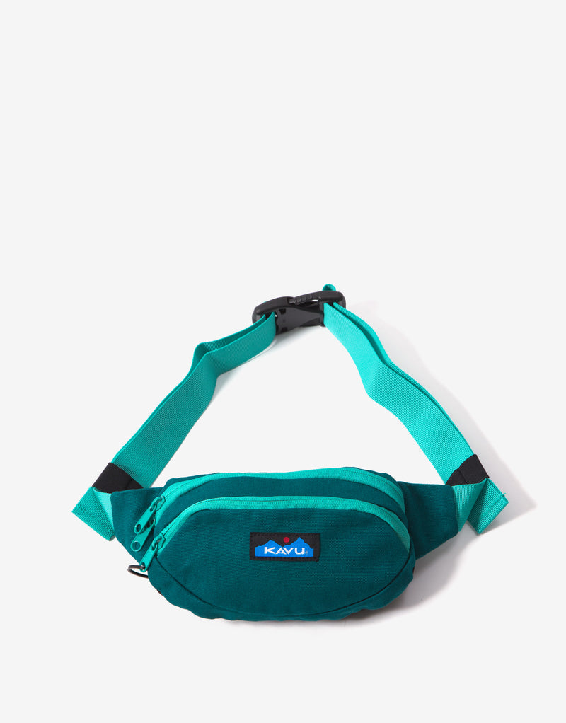 KAVU Canvas Spectator Bag - Paradise Green