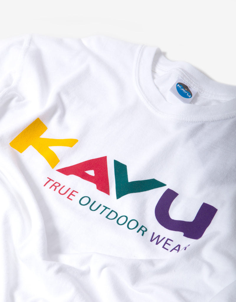 KAVU Multi T Shirt - Winter White