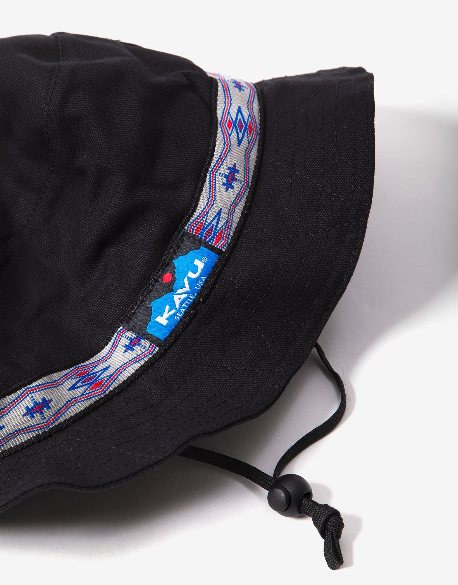 KAVU Organic Bucket Hat - Jet Black