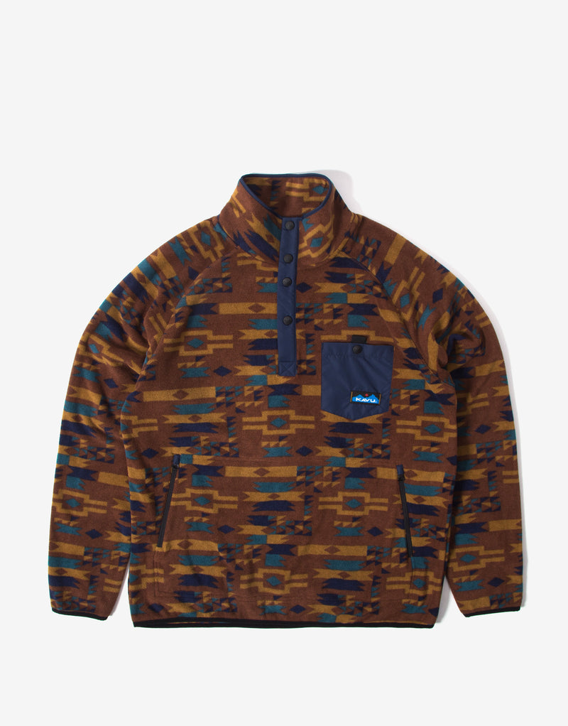 KAVU Teannaway Pullover Fleece - Mountain Arcade