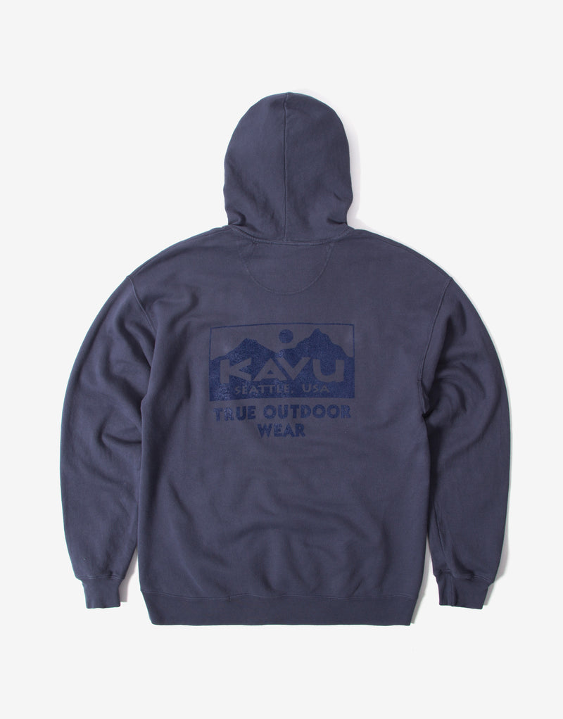 KAVU True Hoody - Denim