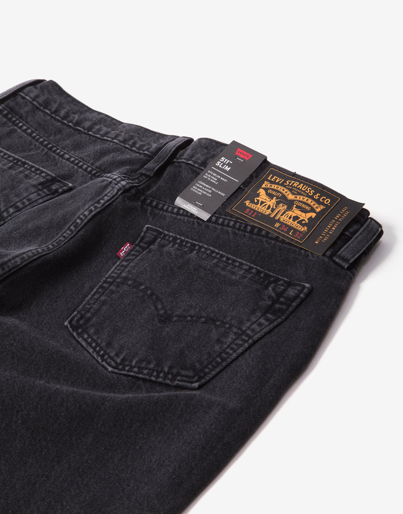 Levi's Skate 511 Slim 5 Pocket Jeans - China Peak