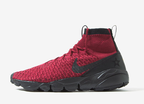 Nike Air Footscape Magista Flyknit FC Shoes - Team Red/Black
