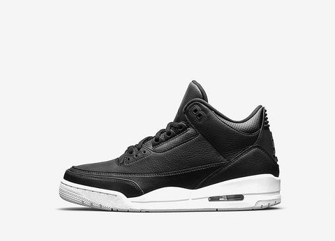 Air Jordan III 'Cyber Monday' GS Shoes - Black/Black-White