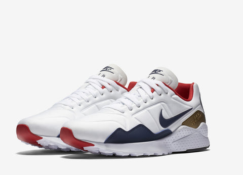 Nike Air Zoom Pegasus 92 Olympic Pack Shoes - White/Midnight Navy