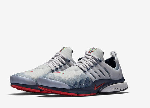Nike Air Presto GPX Olympic Pack Shoes - Neutral Grey/Comet Red