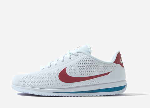 Nike Cortez Ultra Moire Shoes - White/Varsity Red