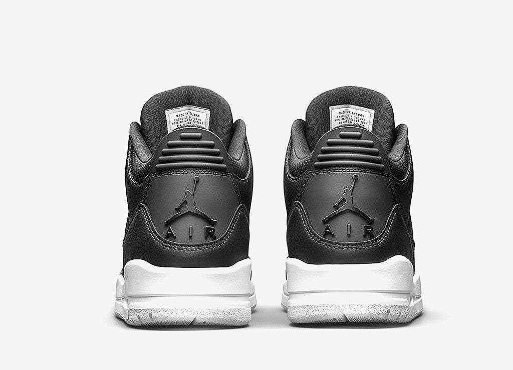 Air Jordan III 'Cyber Monday' Shoes - Black/Black-White