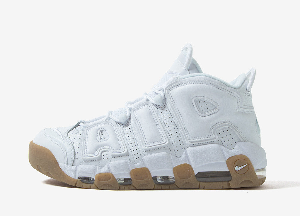 Nike Air More Uptempo - White/White/Bamboo-Gum
