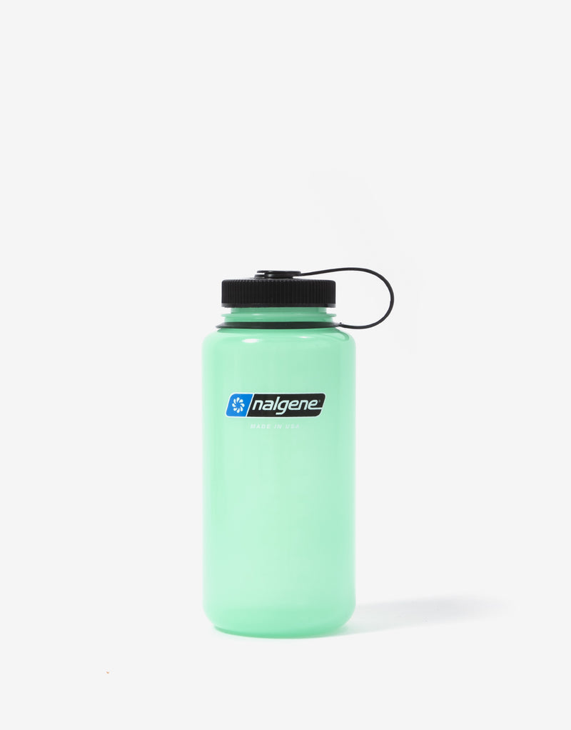 Nalgene 32oz WM Water Bottle - Green Glow
