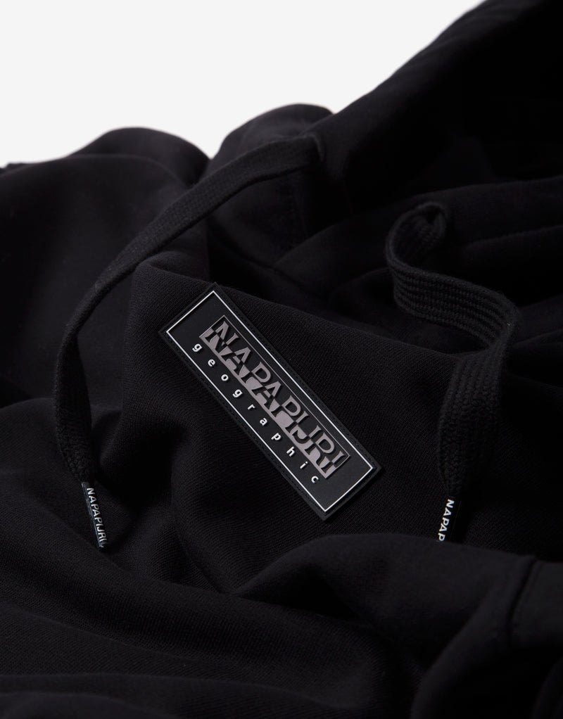 Napapijri B-Patch Hoody - Black