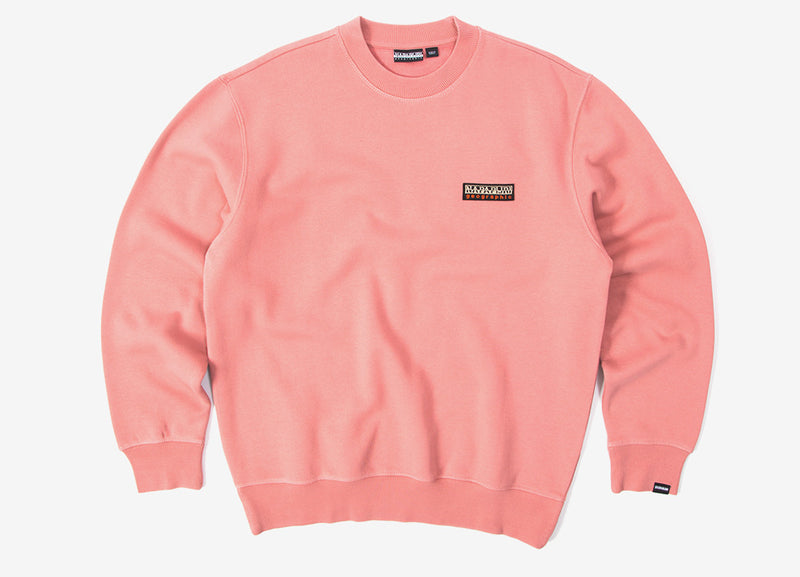 Napapijri Base C Sweatshirt - Pink Old Rose