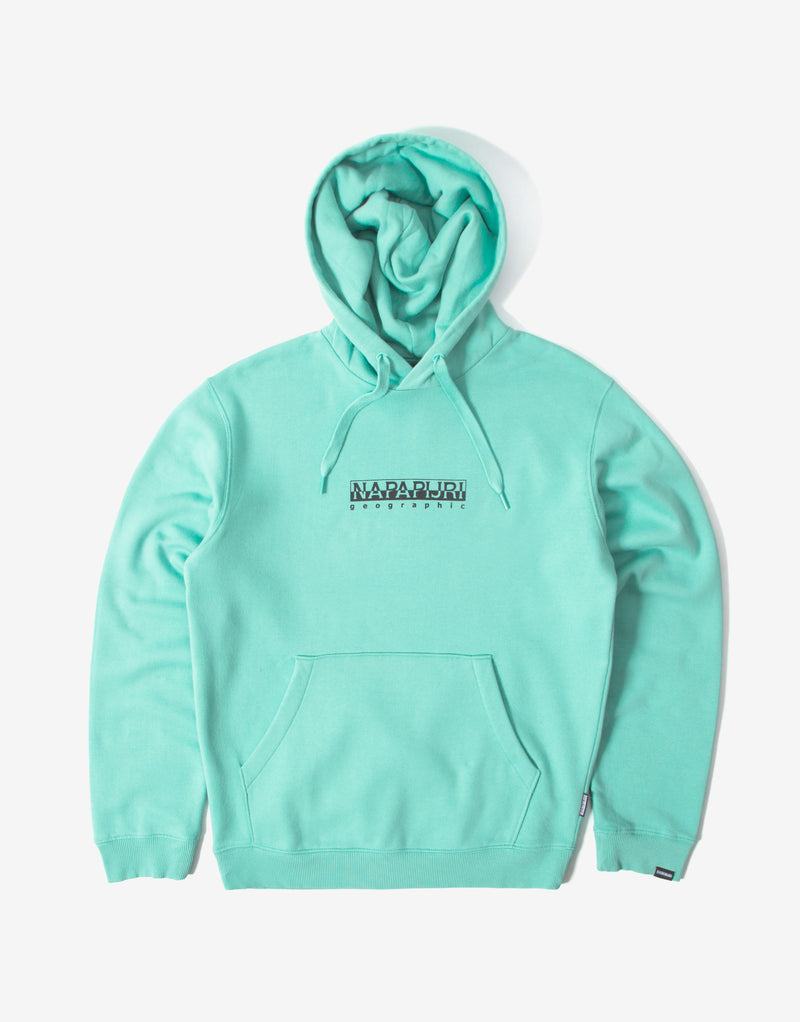 Napapijri Box H Hoody - Green Dusty