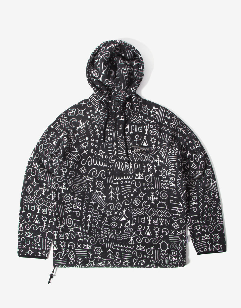 Napapijri Noaide Fleece Hoody - Black