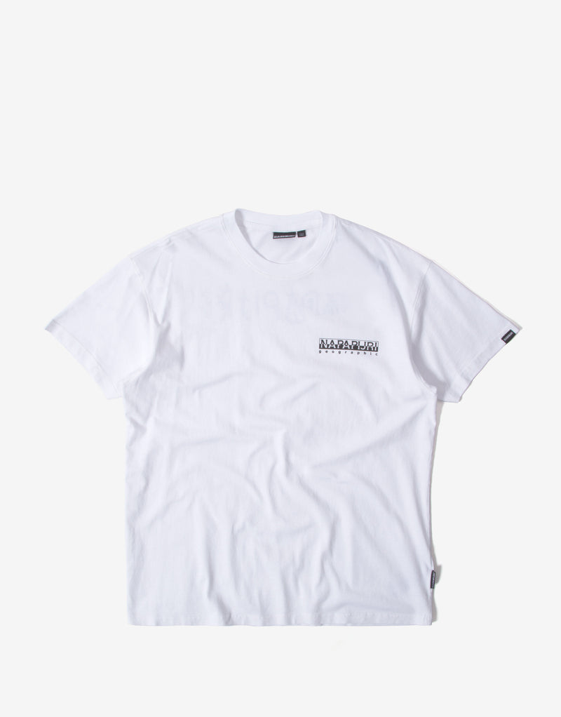 Napapijri S-Yoik T Shirt - Bright White