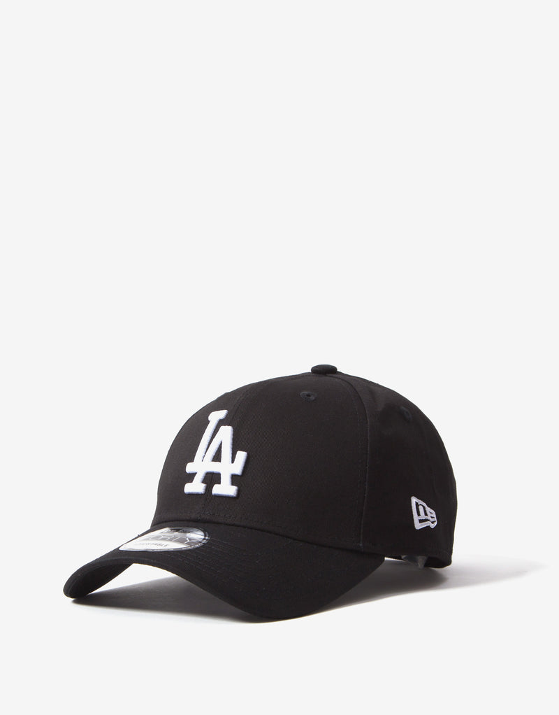New Era MLB 9Forty Essentials LA Dodgers Cap - Black/White