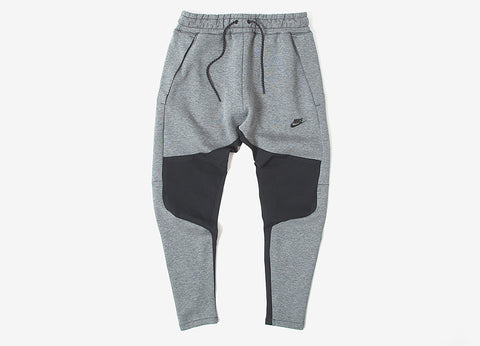 Nike Tech Fleece Sweatpants - Carbon Heather/Black