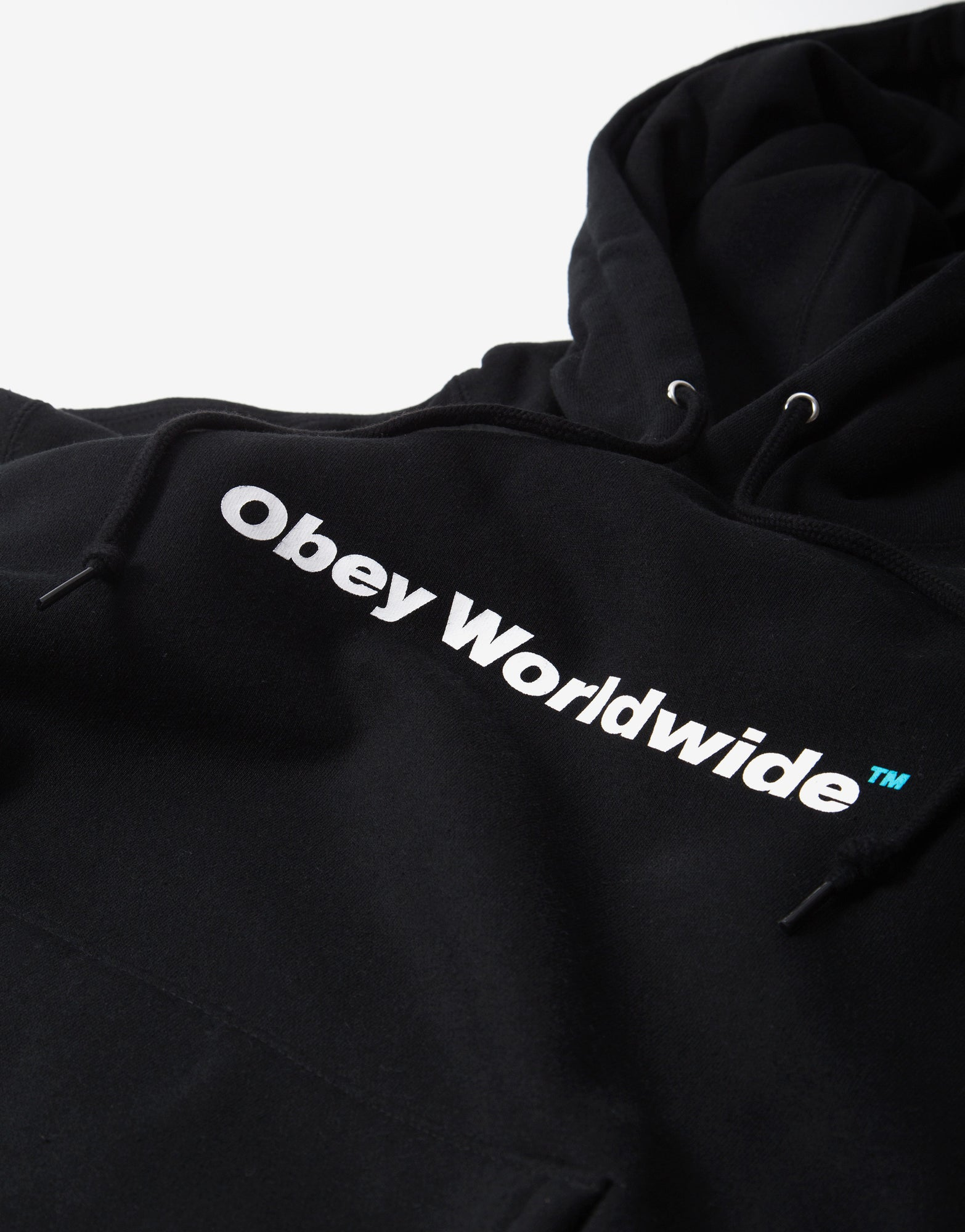 OBEY TM Hoody - Black