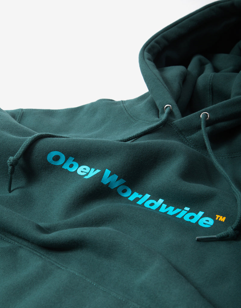 OBEY TM Hoody - Mallard Green