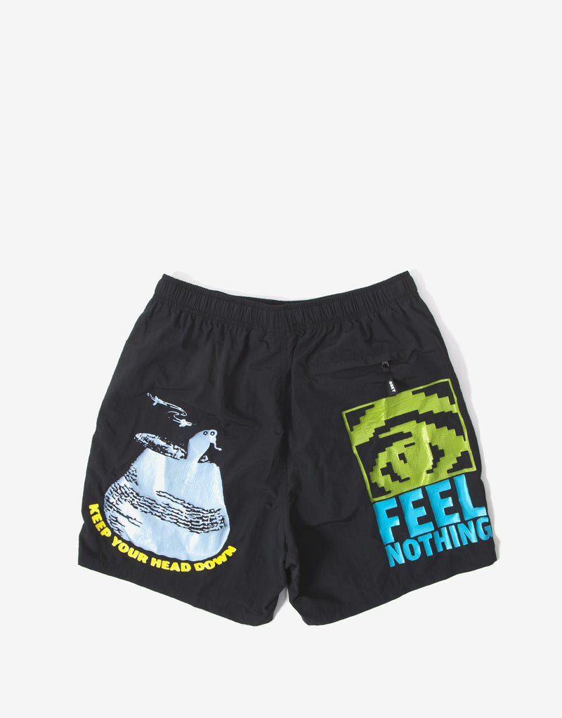 Obey Easy Does It Shorts - Black