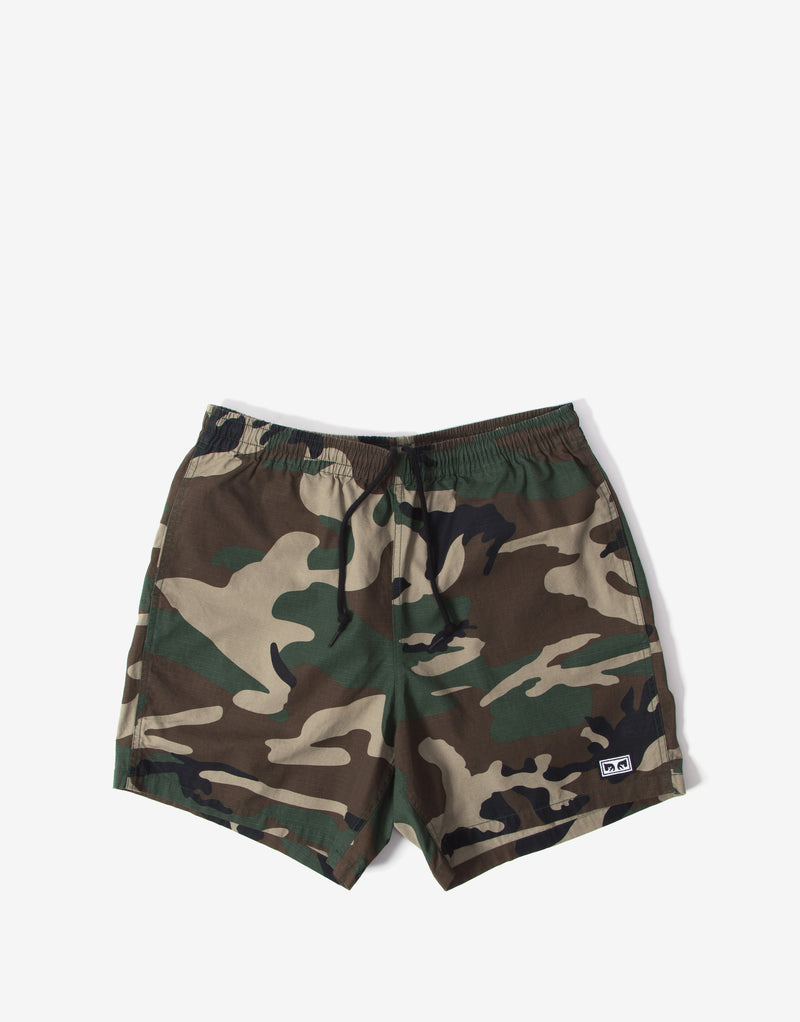 Obey Easy Relaxed Camo Short - Field Camo
