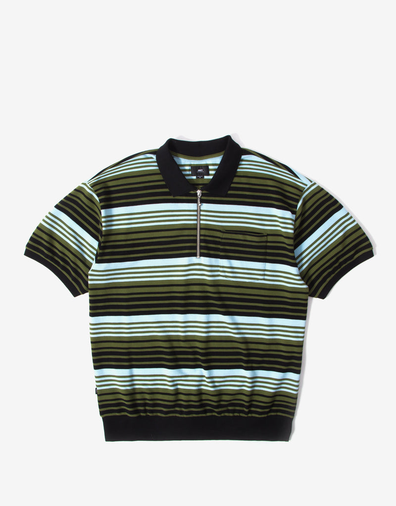 Obey Estate Polo Shirt - Black/Multi