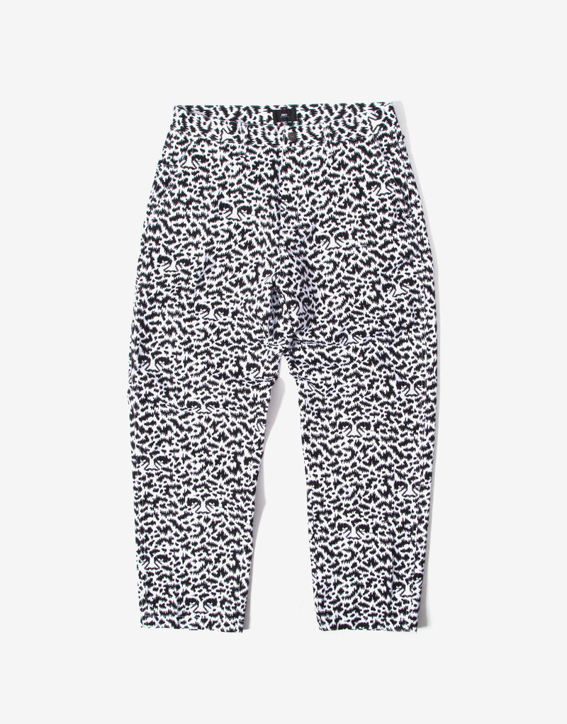 Obey Hardwork Fuzz Pants - Black/Multi