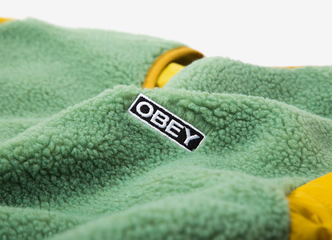 Obey Oyster Jacket - Sage/Multi