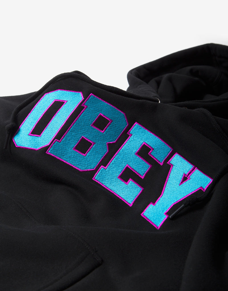 Obey Wyatt Hoody - Black