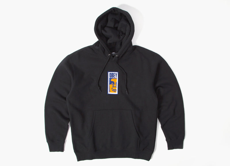 Obey Slim Icon Hoody - Black