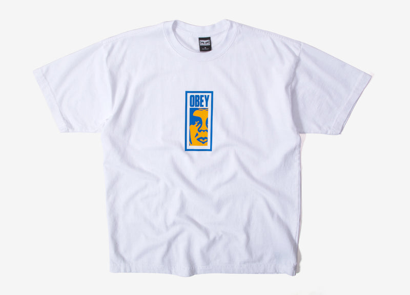 Obey Slim Icon T Shirt - White