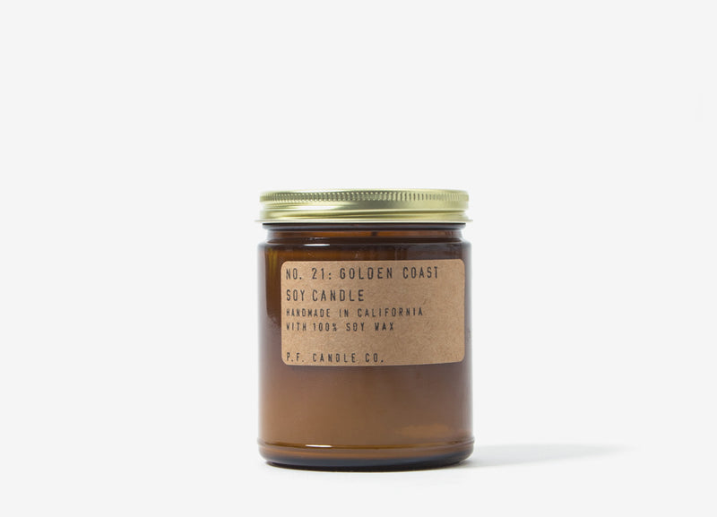 P.F. Candle Co. Golden Coast Soy Candle - 7.2o/z
