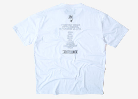 Pas de Mer National Garden T Shirt - White