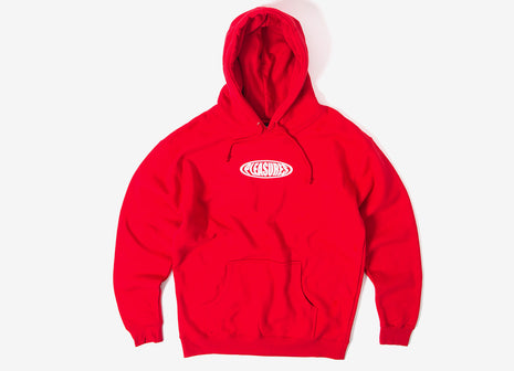 Pleasures Bubble Pullover Hoody - Red