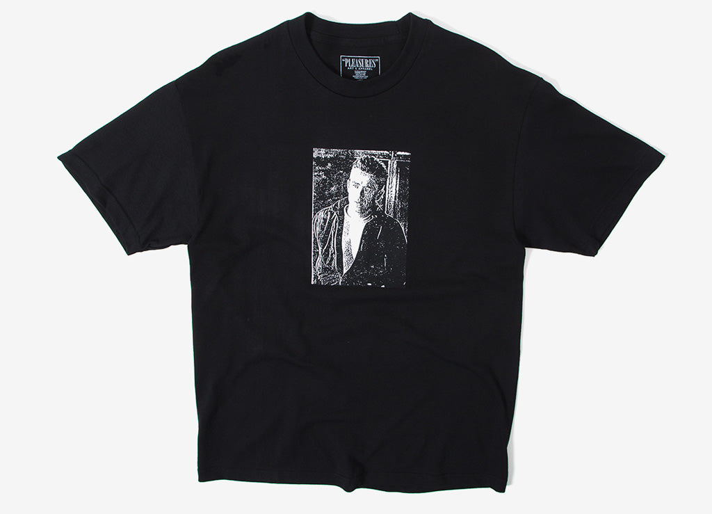 Pleasures Letter T Shirt - Black