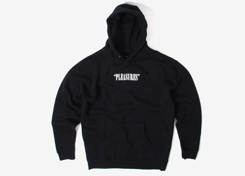 Pleasures Watching You Pullover Hoody - Black