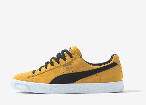 PUMA Clyde OG Shoes - Gold/Black