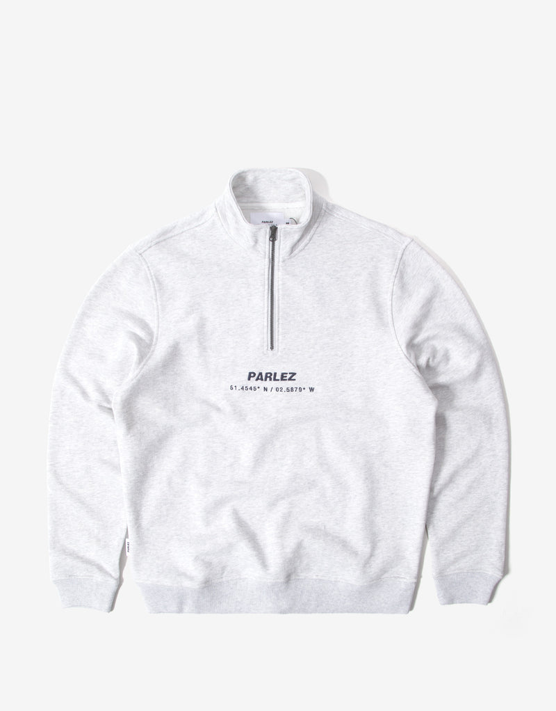 Parlez Cutter 1/4 Zip Sweatshirt - Heather