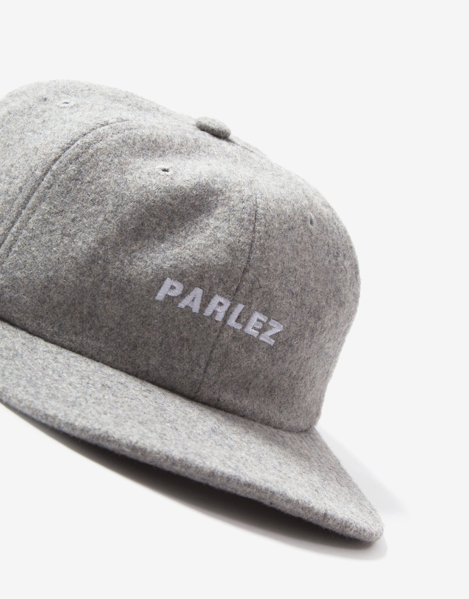 Parlez Ladsun Wool 6 Panel Cap - Heather