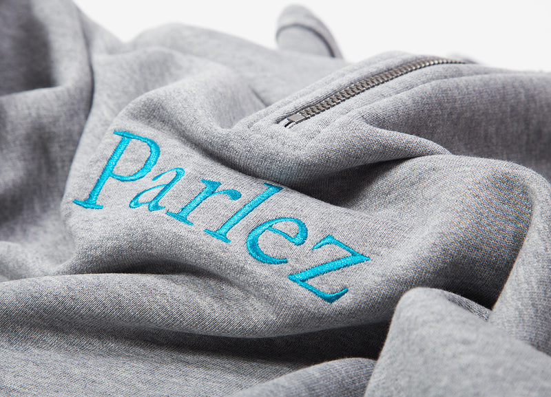 Parlez Trim 1/4 Zip Sweatshirt - Heather