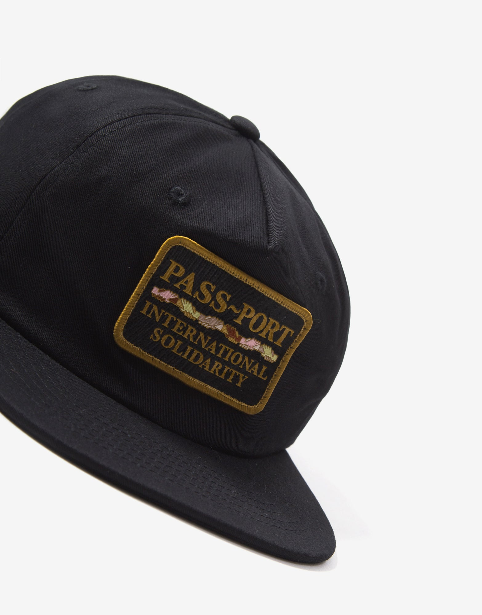 Pass Port Intersolid Cap - Black/Black