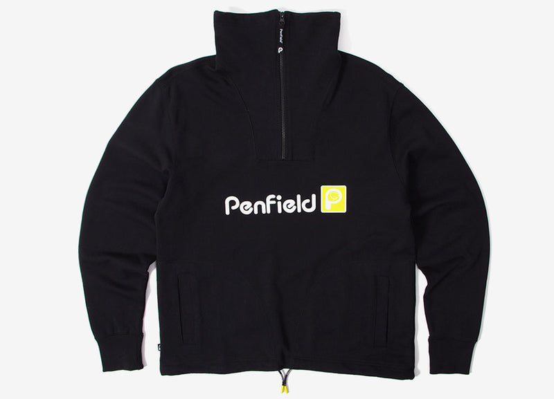 Penfield Boylston Sweatshirt - Black